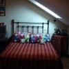 Juan ( VALLADOLID ) Cabecero de forja mod. Antix para cama 135 cm.