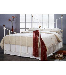Comprar online Dormitorios : Cama y Cabecero Mod. AMARANTO Blanco