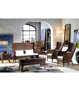 Sofas de Rattan para Salones : Modelo HAITI II