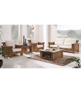 Comprar online Sofas de Rattan : Modelo SAMAYA