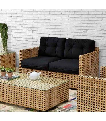 Sofas para Salones en Rattan : Coleccion MILA