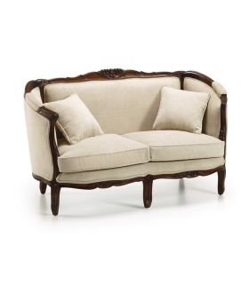 Sofas Louis de Caoba : Coleccion ANTONIETA Honey