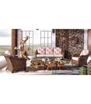 Sofas para Salones de Rattan : Modelo ELISA