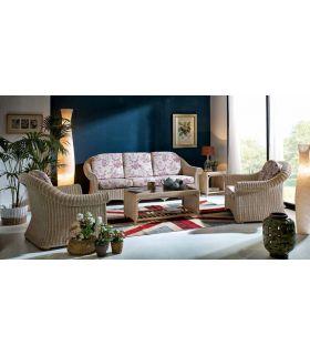 Comprar online Sofas en Rattan para Salones : Coleccion VAMO