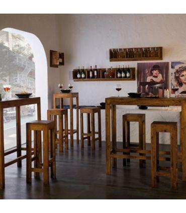 Taburetes de Madera : Colección MINIMAL