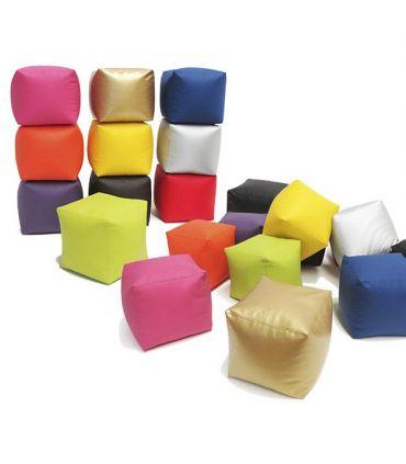 Puff de Colores Modernos : Modelo CUBO