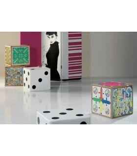 Puff de Colores Modernos : Modelo CUBO JUEGOS