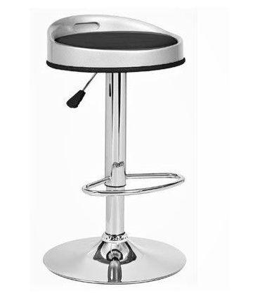 Set de 2 taburetes Regulables en altura : Modelo CUMBIA negro