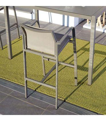 Taburete de Aluminio para Terraza y Jardín : Modelo BYLOT