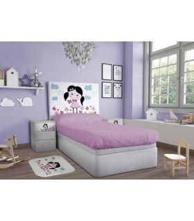 Comprar online Cabecero Infantil desenfundable : Modelo LITTLE GIRL