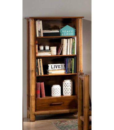 Librerias en Bambu y Mahogany : Coleccion TROPICANA II