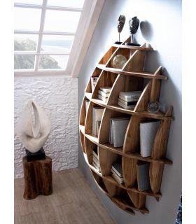 Comprar online Estantería de madera natural : Colección ALAMANDA