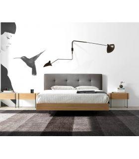 Comprar online Cama de Diseño con Cabezal Tapizado : Modelo BARBARA