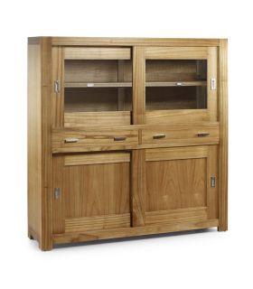 Comprar online Muebles Vitrinas de Madera : Coleccion NATURAL