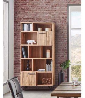 Comprar online Estantería en madera natural de acacia : Colección IRATI