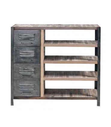 Mueble Auxiliar de estilo Industrial : Colección LOCKER