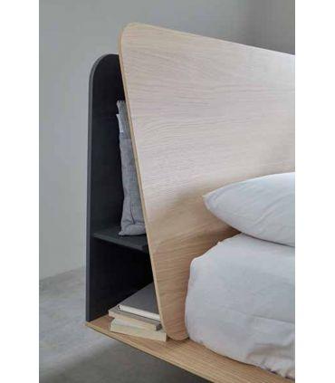 Cama de Madera Estilo URBAN : Modelo KAUFFMAN Shelf