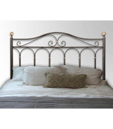 Cabeceros de forja para camas : Modelo AFRICA-ROSA