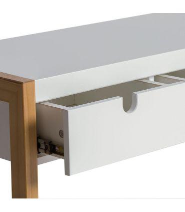 Consola de Recibidor Estilo Nórdico : Colección SQUARE Blanco
