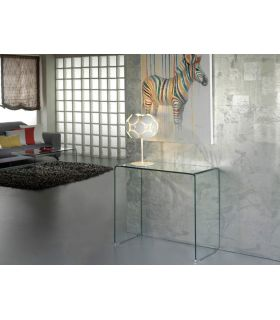 Comprar online Consolas de cristal transparente : Colección GLASS