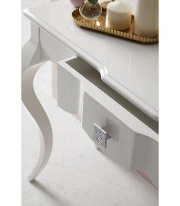 Consolas de diseño en madera : Modelo MIRABELA blanca