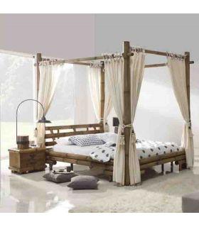 Comprar online Camas Dosel de Bambu : Modelo JIMBARAN