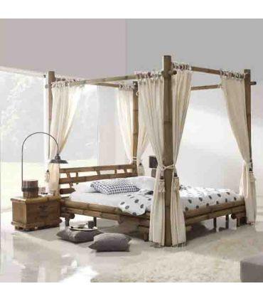 Camas Dosel de Bambu : Modelo JIMBARAN