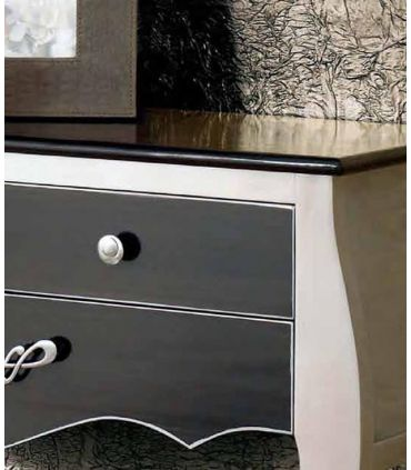 Consola de madera de pino para recibidor modelo NIZA