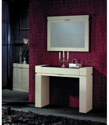 Consolas de madera : Modelo ORLY PQ Blanca