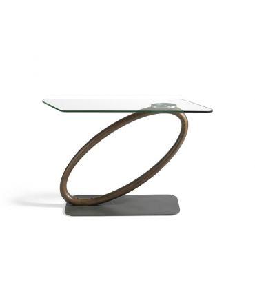 Consola de Diseño Moderno en Nogal : Modelo GAELIA