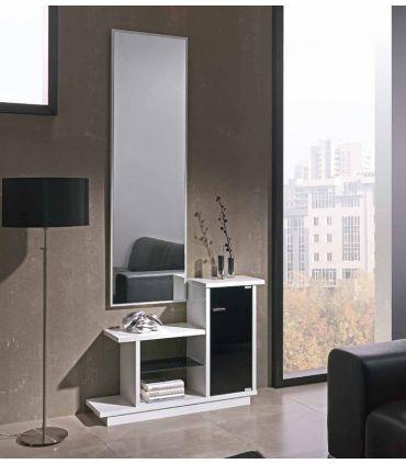 Mueble de Recibidor Escalonado : Modelo LEON Roble