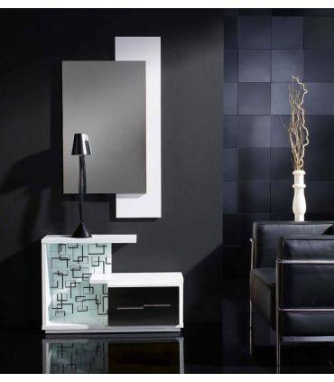 Mueble de recibidor en madera : Modelo ZAMORA Ceniza