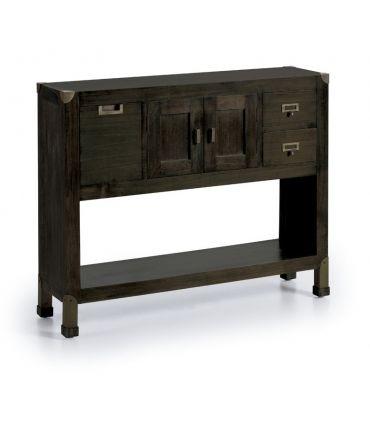 Mueble Taquillón de Madera : Colección INDUSTRIAL 3 cajones