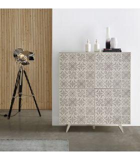 Mueble Taquillón en madera lacada : Modelo MANCHESTER