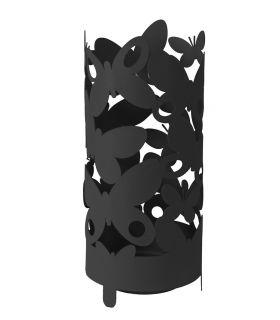Paragüero modelo BUTTERFLY negro