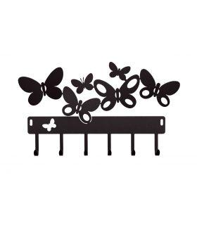 Comprar online Portallaves modelo BUTTERFLY negro
