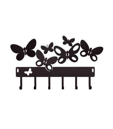Portallaves modelo BUTTERFLY negro