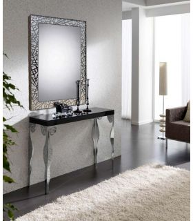 Comprar online Espejo a medida con marco de madera : Modelo LEGANES Blanco