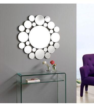 Espejos Redondos con lunas de cristal : Modelo ATOMO