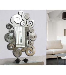 Comprar online Espejo modelo TEMPLE pan de plata