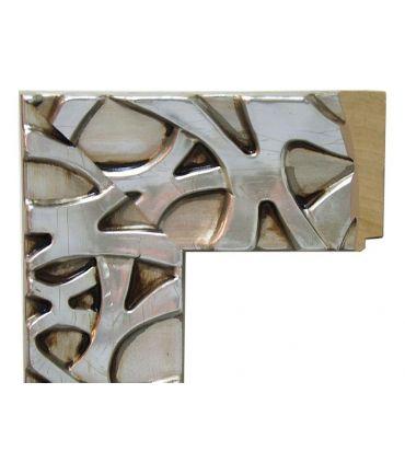 Espejo Moderno de Pared a medida : Modelo ALGECIRAS Plata