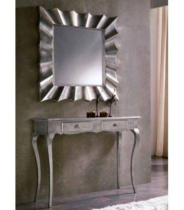 Espejos de Pared Modernos : Modelo COPERNICO cuadrado plata