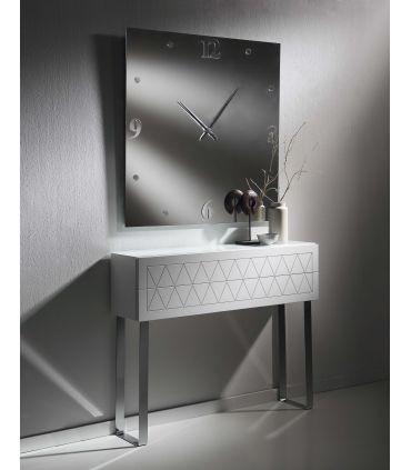 Espejo Reloj Decorativo : Modelo ARADIA Cuadrado