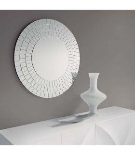 Comprar online Espejo moderno de Cristal redondo : Modelo XEON