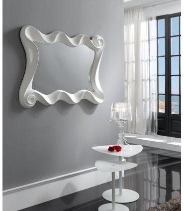 Espejos Originales : Modelo CURVES Blanco