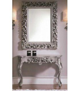 Espejo clasico : Modelo HERACLITO plata