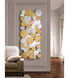 Espejo Moderno en Pan de Oro : Modelo CIRZE Rectangular