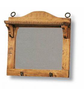 Comprar online Espejos de Madera con Repisa : Colección BAZAR