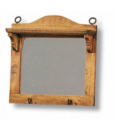 Espejos de Madera con Repisa : Colección BAZAR