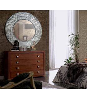 Comprar online Espejo de Pared Circular de Aluminio : Modelo RODAMIENTOS